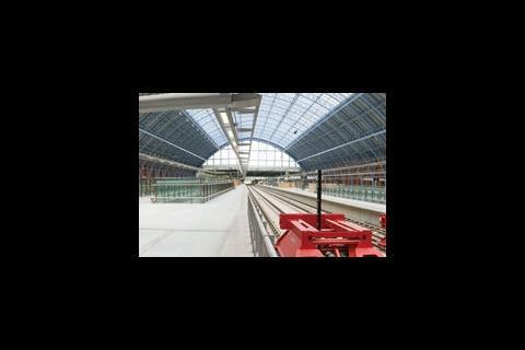St Pancras station